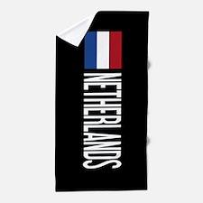 Netherlands: Dutch Flag & Netherlands Beach Towel