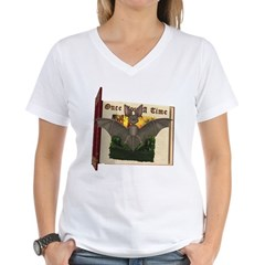 Bennie Bat Women's V-Neck T-Shirt