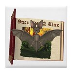 Bennie Bat Tile Coaster