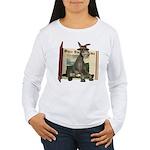 Daisy Donkey Women's Long Sleeve T-Shirt