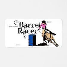 Cool Barrel racers Aluminum License Plate