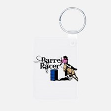 Cute Barrel racing Keychains