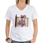 Dusty Dragon Women's V-Neck T-Shirt