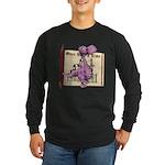 Dusty Dragon Long Sleeve Dark T-Shirt