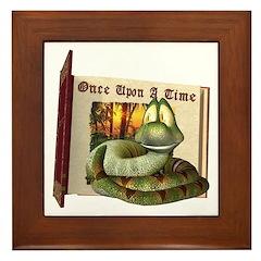 Asp N. Snake Framed Tile