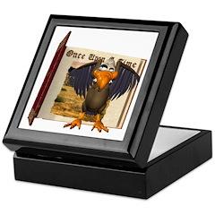 Vinnie Vulture Keepsake Box