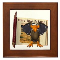 Vinnie Vulture Framed Tile