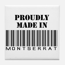 Made in Montserrat Tile Coaster