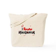 I love Montserrat Tote Bag