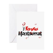I love Montserrat Greeting Card