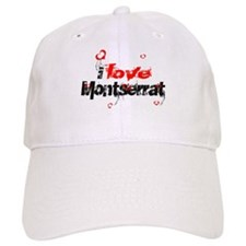 I love Montserrat Baseball Cap