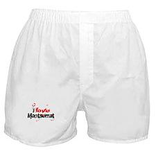 I love Montserrat Boxer Shorts