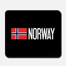 Norway: Norwegian Flag & Norway Mousepad