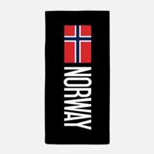 Norway: Norwegian Flag & Norway Beach Towel