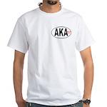 White T-Shirt with Euro-logo