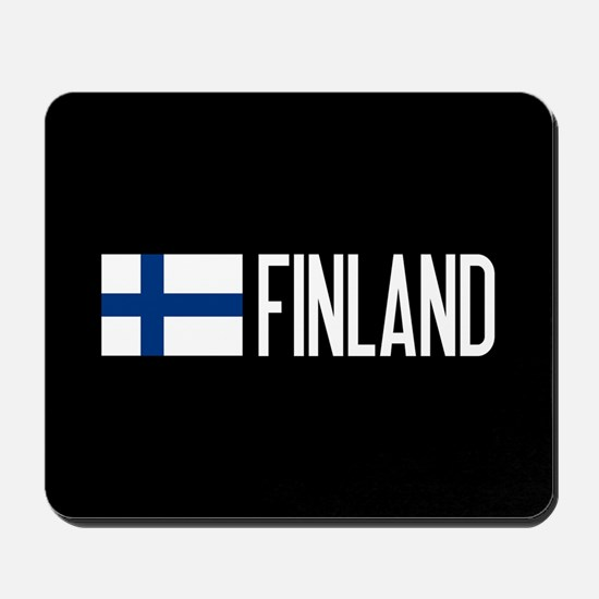 Finland: Finnish Flag & Finland Mousepad