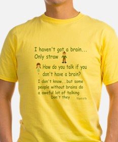 Scarecrow Wizard of Oz Quote T-Shirt