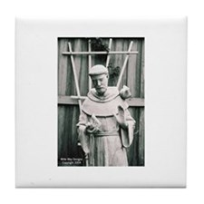Saint Francis, the Patron Sai Tile Coaster