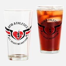 Cute Heart health Drinking Glass