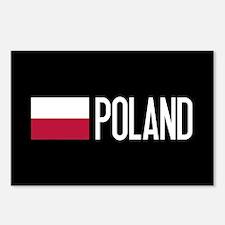 Poland: Polish Flag & Pol Postcards (Package of 8)