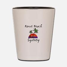 Bondi Beach Sydney Australia. Shot Glass