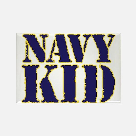 Cute Navy brat Rectangle Magnet