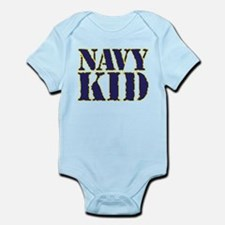 Navy Kid Body Suit