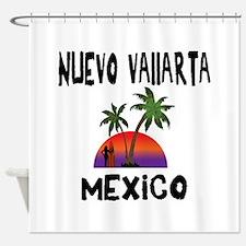 Nuevo Vallarta Mexico Shower Curtain