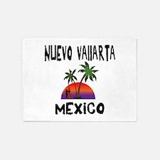 Nuevo Vallarta Mexico 5'x7'Area Rug