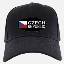 Czech Republic: Czech Flag & Czech Repub Baseball Hat