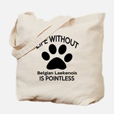 Life Without Bedlington Terrier Dog Tote Bag