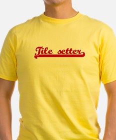 Tile setter (sporty red) T-Shirt