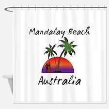 Mandalay Beach Australia Shower Curtain