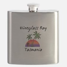 Wineglass Bay Tasmania Flask