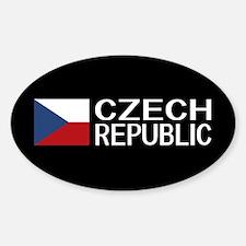 Czech Republic: Czech Flag & Czech Republi Decal