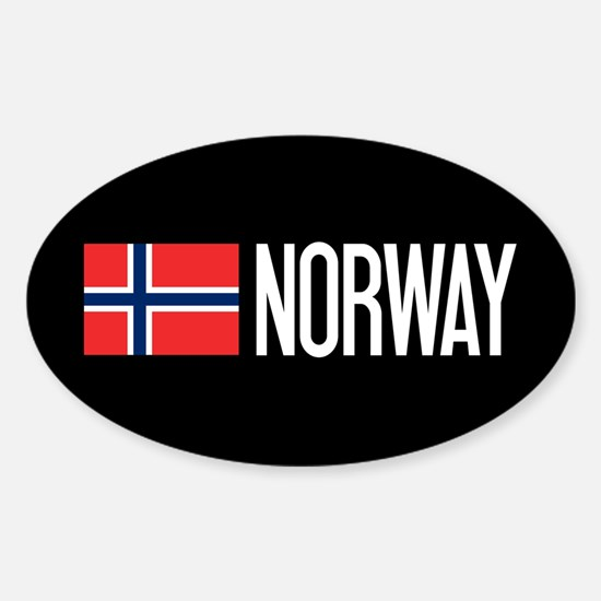 Norway: Norwegian Flag & Norway Decal