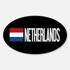 Netherlands: Dutch Flag & Netherlands Decal
