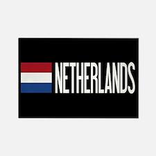 Netherlands: Dutch Flag & Netherlands Magnets
