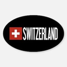 Switzerland: Swiss Flag & Switzerland Decal