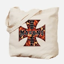 Unique Black freemason Tote Bag