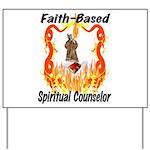Faith Based Counselor Yard Sign