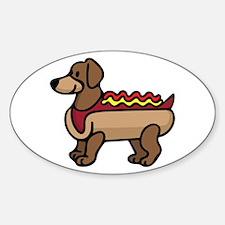 Hot Dog Decal
