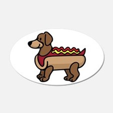 Hot Dog Wall Decal