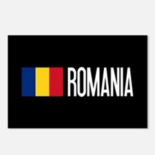 Romania: Romanian Flag & Postcards (Package of 8)