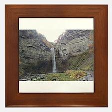 Taughannock Falls Framed Tile