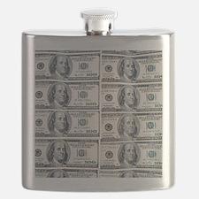 $100 dollar bills money Flask
