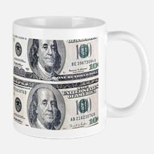 $100 dollar bills money Mugs