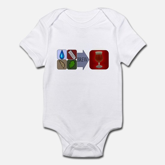 Beer Math Infant Bodysuit
