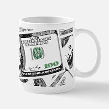 $100 dollars Mugs