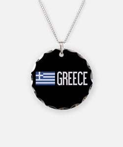 Greece: Greek Flag & Greece Necklace